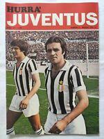 HURRA' JUVENTUS N. 5 MAGGIO 1976 CLAUDIO GENTILE DINO ZOFF CUCCUREDDU