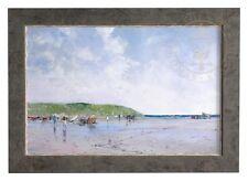 Seaside Umbrellas Thomas Kinkade Robert Girrard 18x27 Impressions SALE 75% OFF