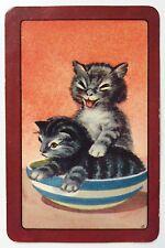 Vintage COLES Swap Card - UN NAMED CATS #2