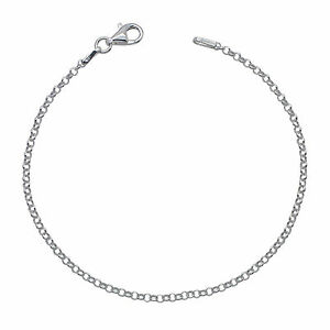 925 Solid Sterling Silver BELCHER chain BRACELET 2mm NEW