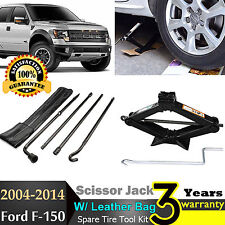 For 2006-2014 Ford F-150 Repair Spare Tire Tool Kit Lug Wrench With Scissor Jack