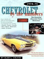 Chevrolet Malibu Camaro Chevelle Impala catalogue de pièces Owners Manual Manuel