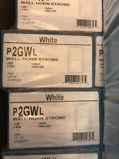 System Sensor P2GWL L SERIES WHITE HORN STROBE