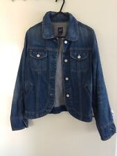 GAP Blue Denim Jacket Size XS