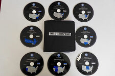 2003 2004 2005 Volkswagen VW Phaeton Navigation CD Disks Map Set: USA + Canada