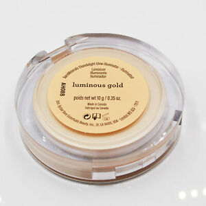 BareMinerals Chandelight Glow Illuminator Luminizer Luminous Gold 0.35 oz