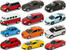 "WELLY 1:60 Modellauto ""Die Cast"" VW Bully Käfer Mini Cooper BMW Audi Porsche car"