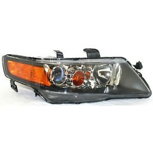 Headlight For 2006 2007 2008 Acura TSX Base Model Right Clear Lens HID