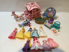 Vintage Disney Fashion Polly Pocket Disney Cinderella Lot