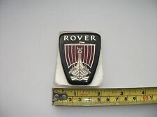 CLASSIC ROVER  BONNET BADGE ,WITH BOTH PINS  STICK ON UNUSED