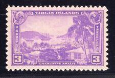 US STAMP #802 3c VIRGIN ISLANDS - XF - MINT - GRADED 90