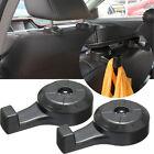 2 PCS Black Universal Car Headrest Luggage Bags Hanger Humanized Hook Holder New