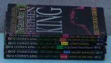 The Green Mile- 6 paperback set-Stephen King (Item 1428)