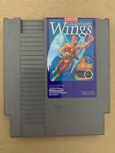 Legendary Wings Nintendo Nes Cartridge Tested Working 100% Authentic