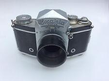 Exakta VAREX VX Ihagee Dresda con prismi mirino & microscopio porta