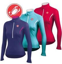 Castelli Cromo Women's Thermal Fleece Long Sleeve Jersey