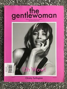 The Gentlewoman : Christy Turlington Cover, Issue 5, Spr / Sum 2012, VG Cond
