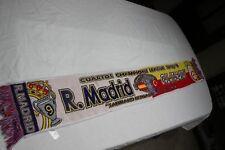 BUFANDA DE LA CHAMPIONS LEAGUE REAL MADRID Y GALATASARAY COTIZADA SCARF
