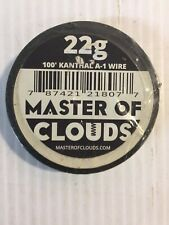 100 ft Kanthal A-1 Wire 22 Gauge Master of Clouds