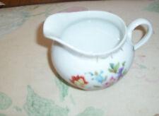 ZS. & Co.  Bavaria Creamer Pitcher Vintage (Sherzer) Floral Design Pattern