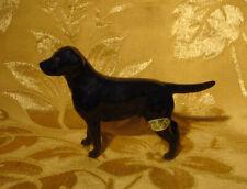BESWICK BLACK LABRADOR DOG FIGURINE ENGLAND ORIGINAL STICKER