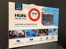 HUBI 2K LIGHTING & POWER SYSTEM solar hub outdoor charging kit camping caravan