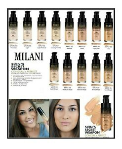 MILANI Conceal + Perfect 2 In 1 Foundation + Concealer 30ml-Full Shades