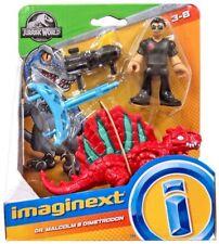 Imaginext Jurassic World trampas Kingdom-el Dr. Malcolm & dimetrodon
