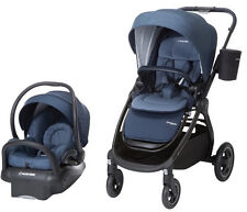 Maxi-Cosi Adorra Travel System Stroller w/ Mico Max Car Seat & Base Nomad Blue