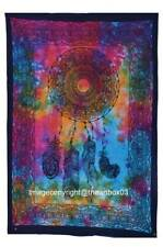 Dream Catcher Painted Tapestry Wall Hanging Indian Tie Dye Cotton Wall Decor Art