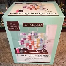 Acrylic Paint Storage Rack Organizer Wire Carousel Revolving New HOLDS 112 (A)