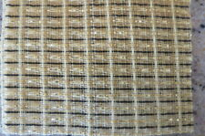 * NEW PRODUCT* FENDER  WHEAT, WHEAT SPARKLE WITH BLACK STRIPE GRILL CLOTH 30X30