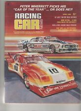 Racing Car News 1980 Apr BMW Alpina Chevrolet Monza South Africa GP Canstel Cald