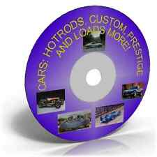 Cars: Hotrods, Custom, Collection of Prestige Images on DVD