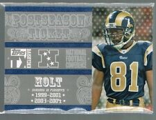 2007 topps tx exclusiv Postseason ticket TORRY HOLT /49