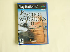 Pacific Warriors II 2 Dogfight Playstation 2 PS2 game boxed with manual