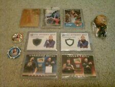 WWE Jeff Hardy Boyz 7 Karten Lot Reliquien Mini Figur Gold xfractor Chipz Silber!!!