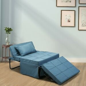Convertible Sofa Bed 4 in 1 Multi-Function Folding Ottoman Bench Adjustable