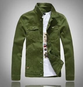 New men's spring jacket loose handsome student denim jacket