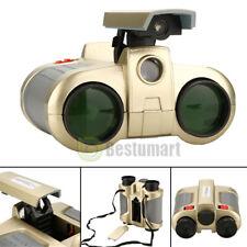 4x 30mm Night Vision Surveillance Scope Binoculars Telescopes W/ Pop-up Light Us