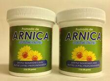 2 POMADAS DE ARNICA PHARMADEL NUTRE PROFUNDAMENTE 2 oz / DEEPLY NOURISHING SALVE