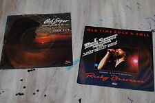 "2 x 7"" SINGLES VINYL BOB SEGER (Even Now / Old Time Rock & Roll)"