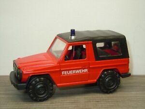 Mercedes G-Klasse Gelandewagen Feuerwehr - Cursor 1:35? Germany *52664