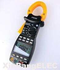 Three Phase True RMS Digital Power Clamp Meter Power Factor Tester RS232