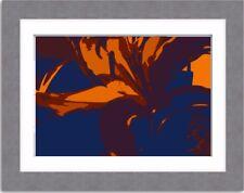 Photo art print abstract art modern art wall art multi-colour A4