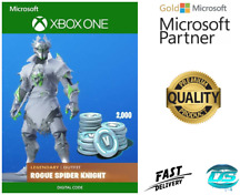 Rogue Spider Knight Outfit + 2000 V-Bucks Bundle Xbox One - Key Code