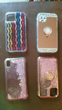 Apple Iphone 11 cell phone case cover lot of 4 mobile accessories