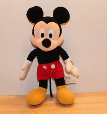 "Disney's Mickey Mouse Plush Stuffed 11"" Toy"
