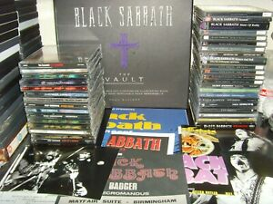 Black Sabbath and Ozzy Osbourne CD and Memorabilia Complete Collection