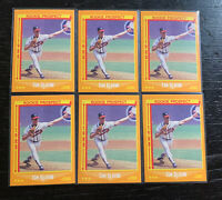 Tom Glavine RC Lot(6) 1988 Score #638 Atlanta Braves